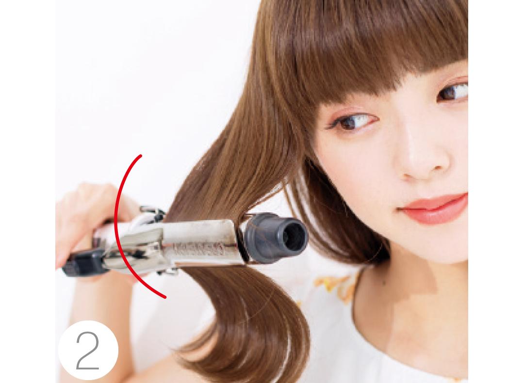 ミディアムさんが前髪と触角まわりで小顔になる方法★超ていねい図解!_1_3-2