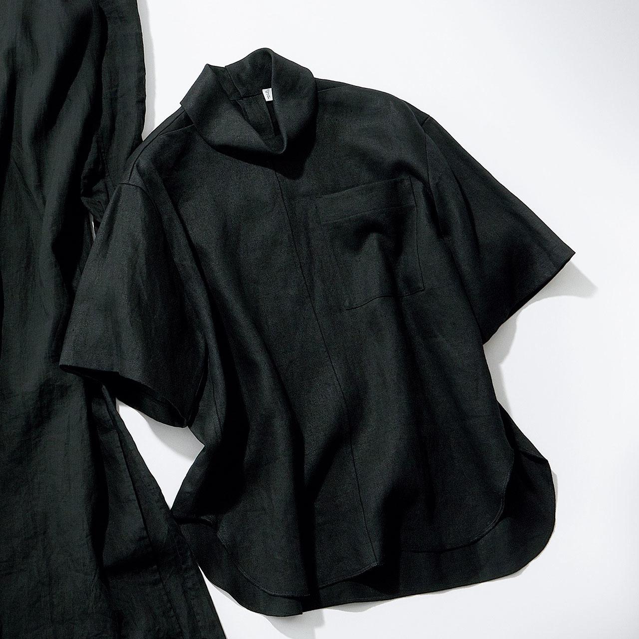 """""""黒のクールみ""""手に入る、カッコよく着られる大人のリネン 五選_1_1-2"""