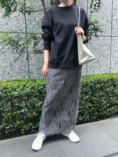 徳原文子×eclat レーススカート ¥36,300(税込)