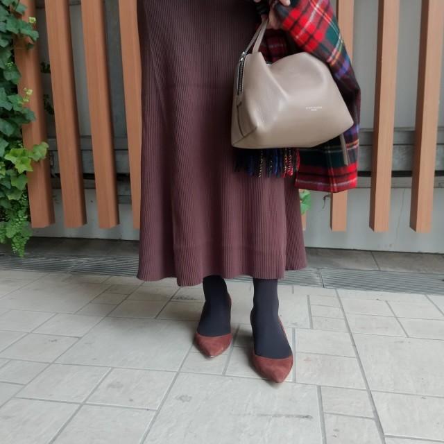 11月号付録「ニュアンスブラック美脚タイツ」コーデ実例!美女組の着こなしまとめ_1_18