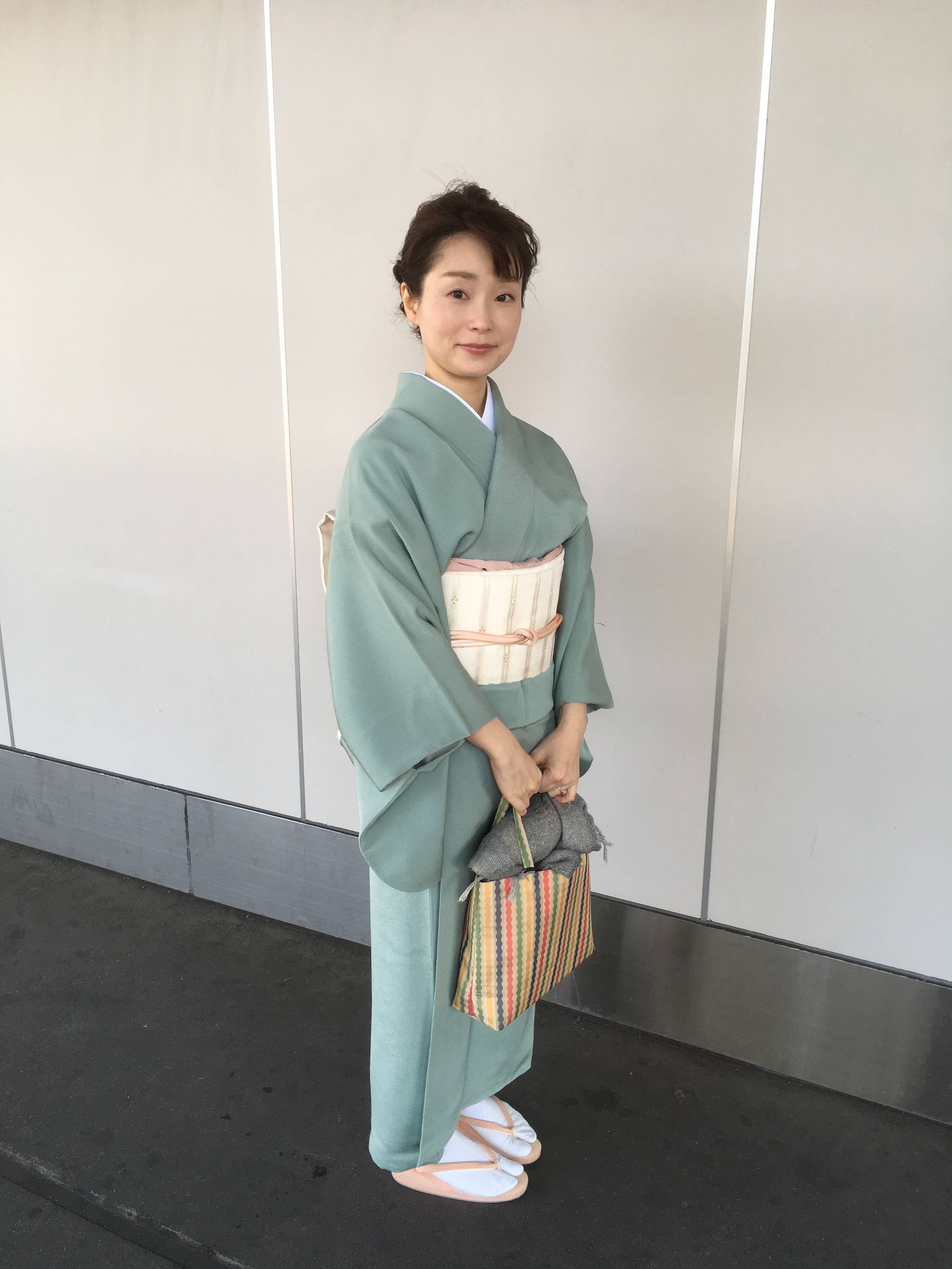 アラフォー母、中学入学式で着物を着る!_1_2