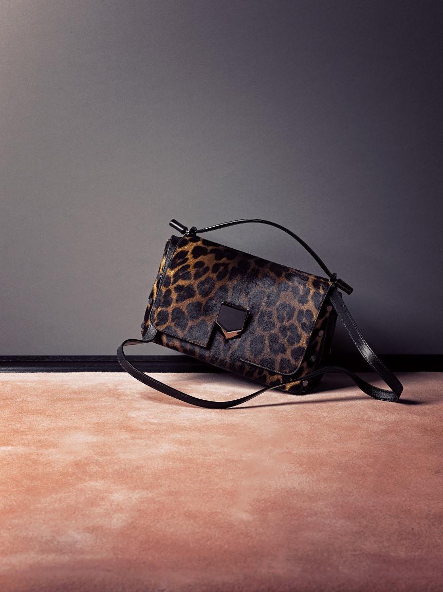 注目のレオパード柄はバッグで取り入れて_1_1