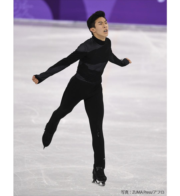 ネイサン・チェン  2018年平昌オリンピック フィギュアスケート団体戦での衣装