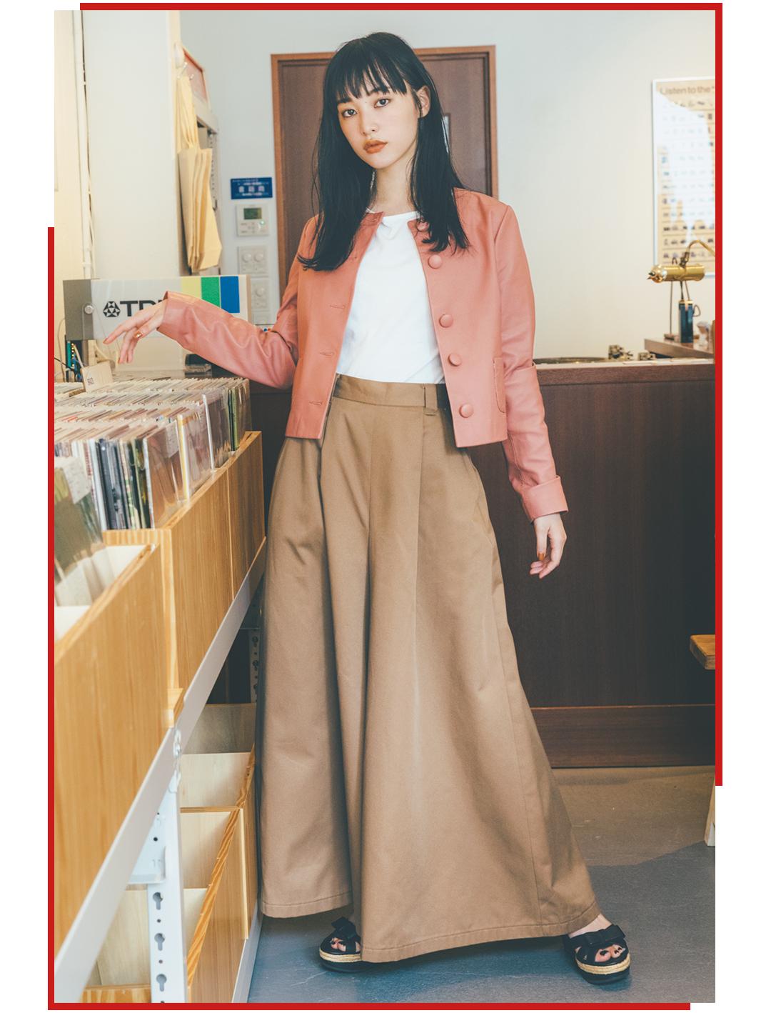 アニエス ベーの秋服が似合いすぎ♡ ノンノモデル山田愛奈が大人可愛い!_1_4-2