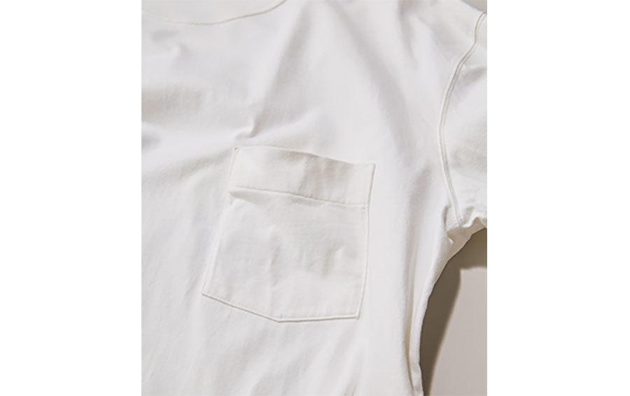 ポケット白Tシャツ