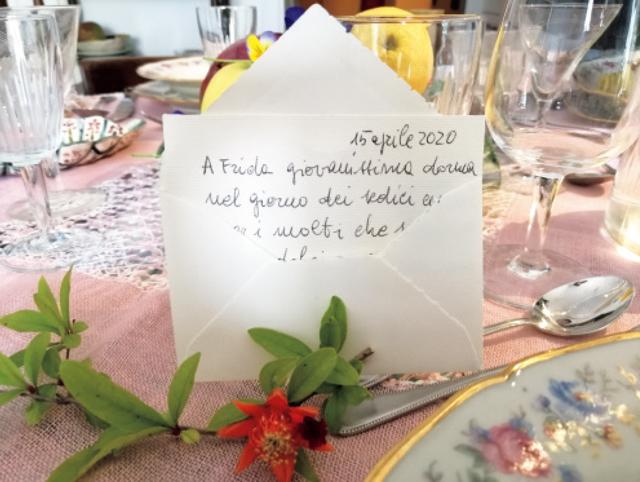 ❺ステイホーム中に16歳の誕生日を迎えた愛するひとり娘へつづった手紙。
