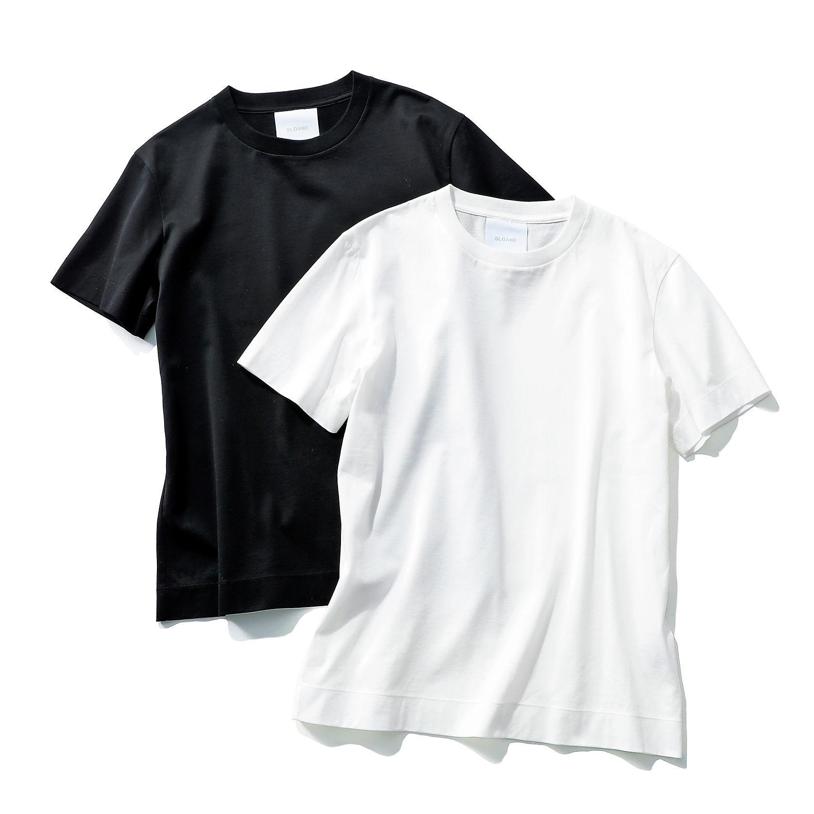 SLOANE コットンTシャツ