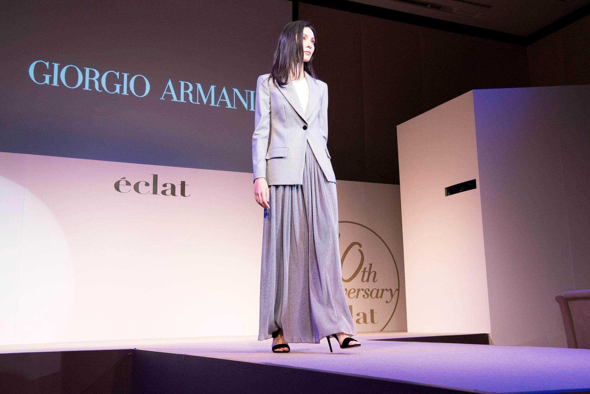 エクラモデルによる、あの人気ブランドのショーを目の前で! ファッションフロアショー_1_1-3