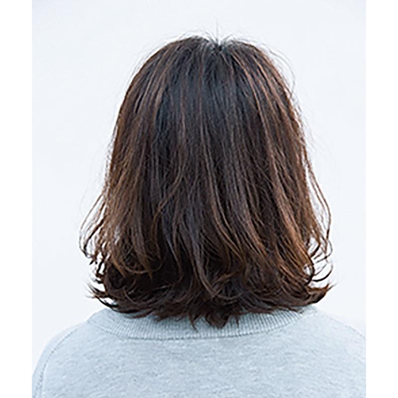 後ろから見た 40代人気髪型ヘアスタイル4位
