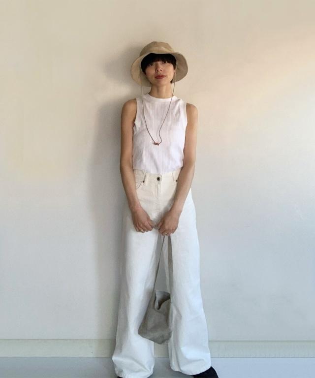 ZARAの春トレンド服でシンプルコーデを更新! 40代のZARAコーデまとめ|美女組Pick-up!_1_40