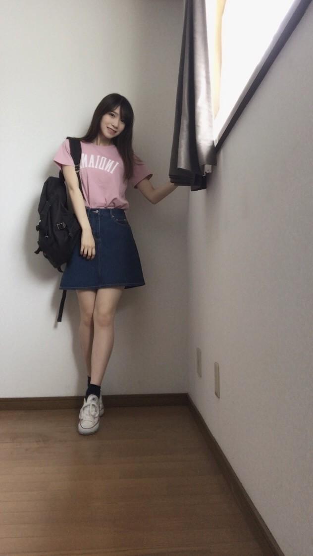 定番デニムスカートをシーン別に着回す!!_1_1
