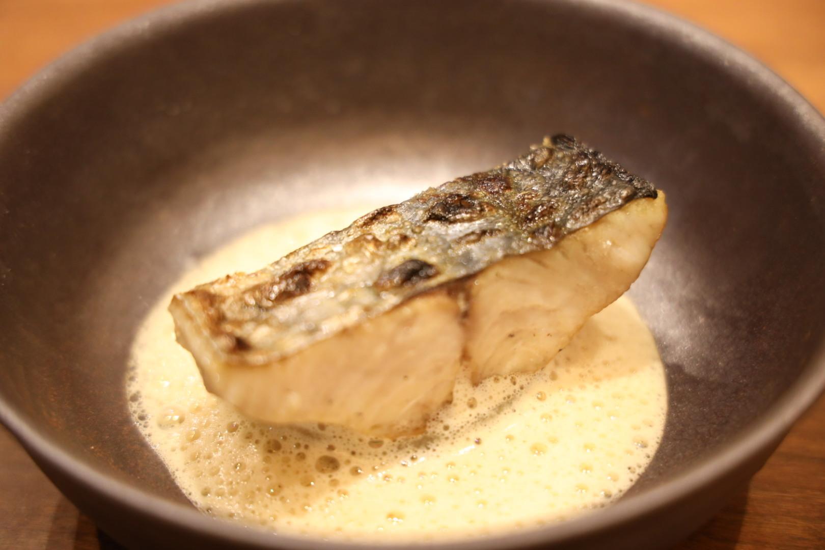 白身魚のグリル