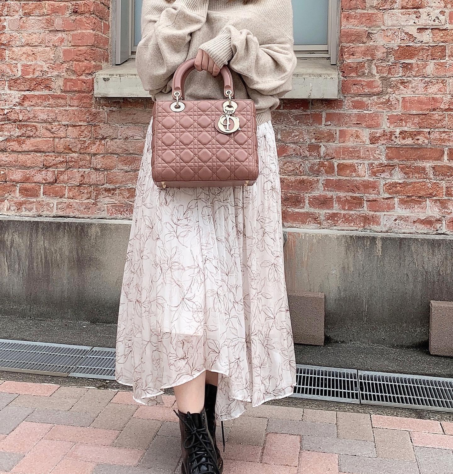 【低身長さん向け】秋のデートコーデ♡オフショル×フィッシュテールスカート【154cm 】_1_2