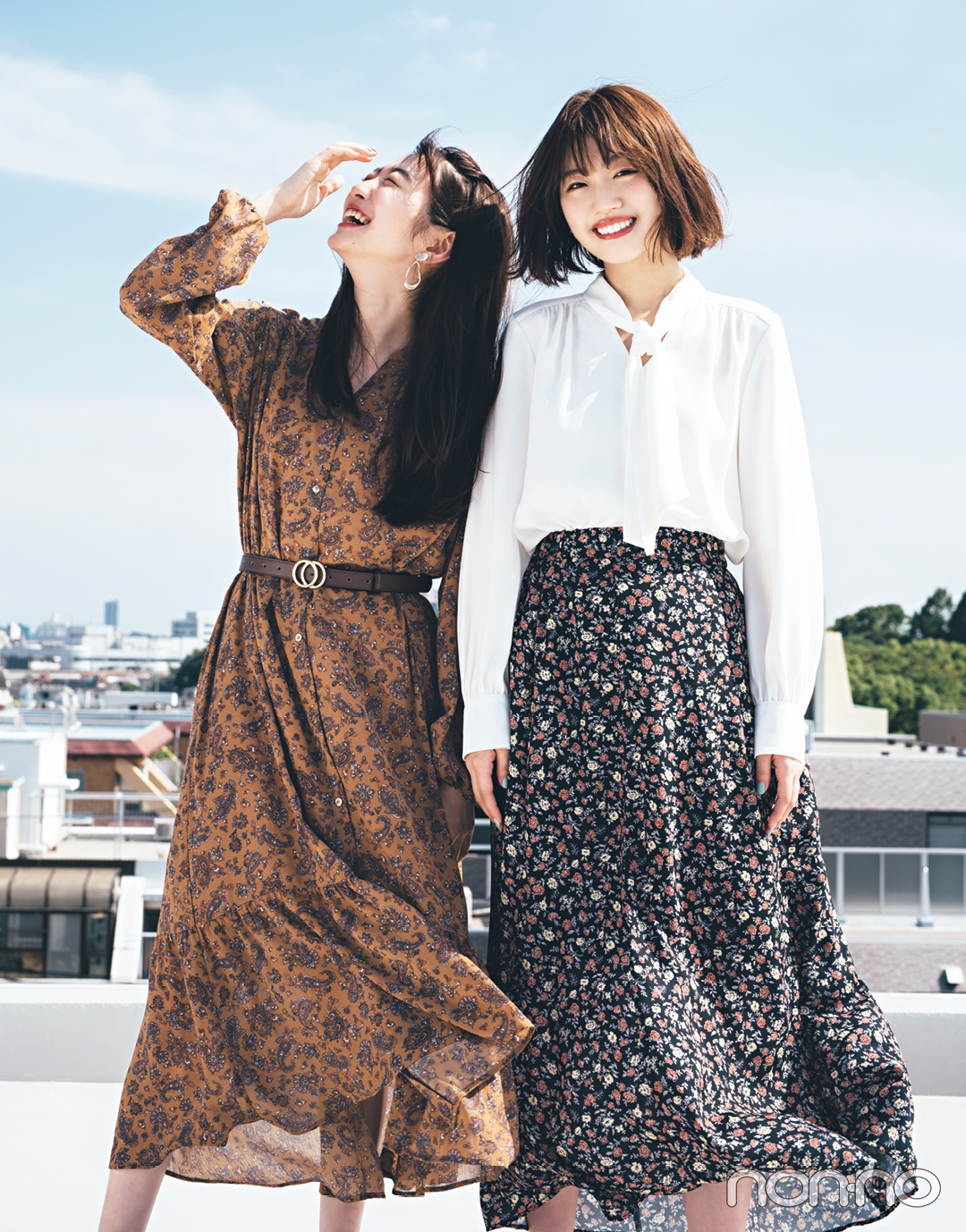 GU秋新作、毎日コーデに大活躍の柄スカート&柄ワンピが大本命!_1_3