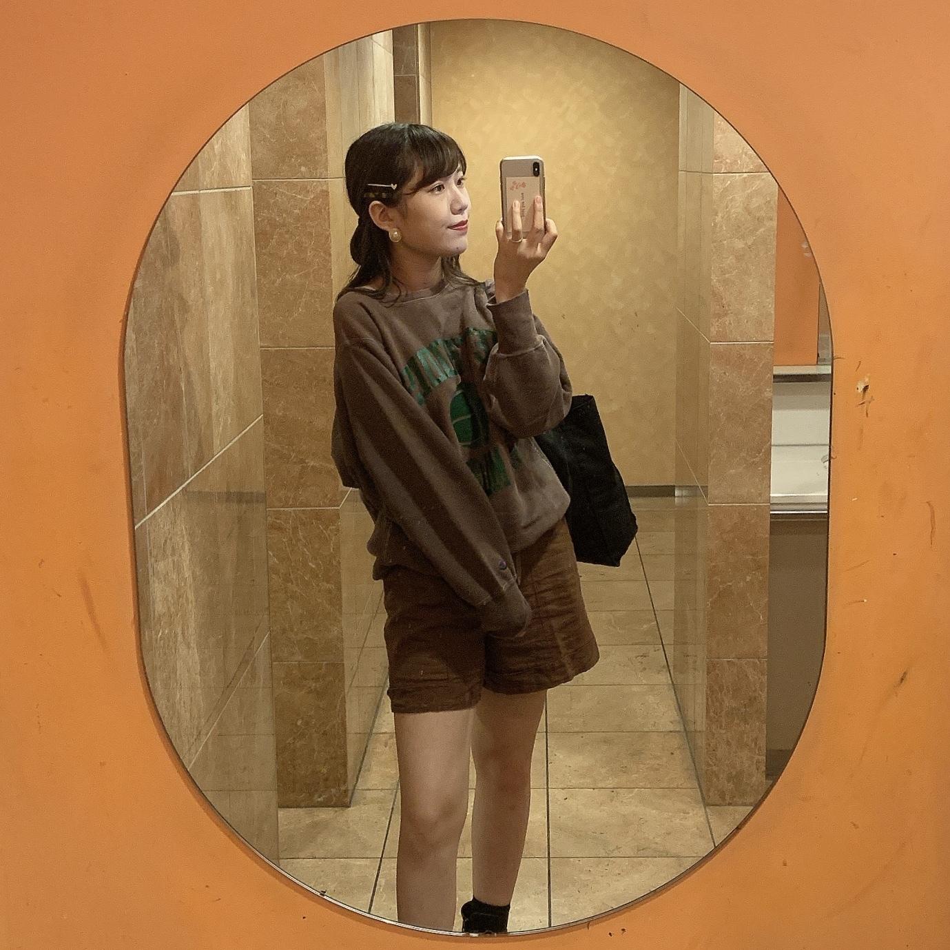 【学校コーデ】ゴールドアクセと今日の服。_1_2