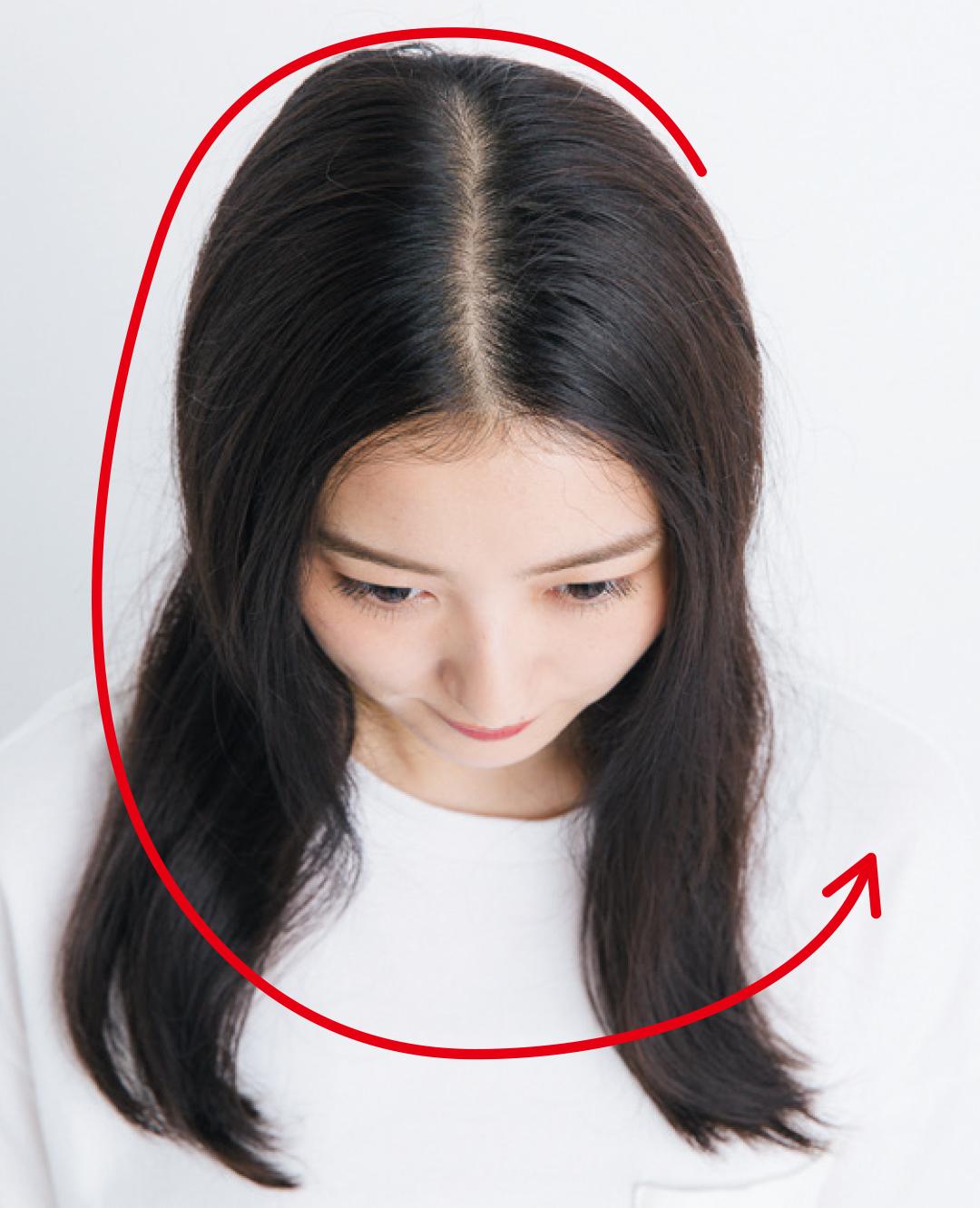 前髪がぱっくり割れてる、寝グセがヤバい…朝の髪形悩み、解決策5選!_1_6-2