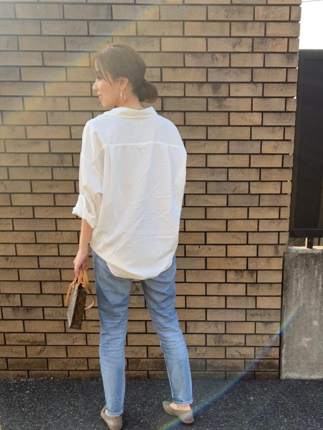 この春のHIT服「シャツ」をアラフォーはこう着る!最旬シャツコーデまとめ|40代ファッション_1_25