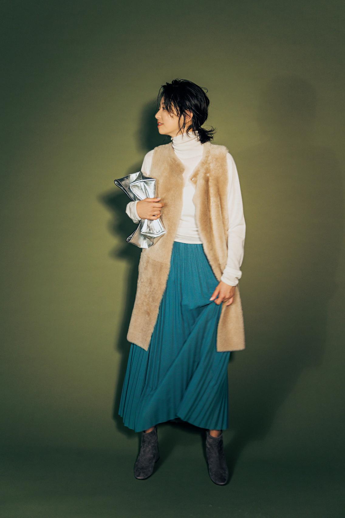 コートの中の「中羽織り」でレイヤードを楽しむ!_2_1-1