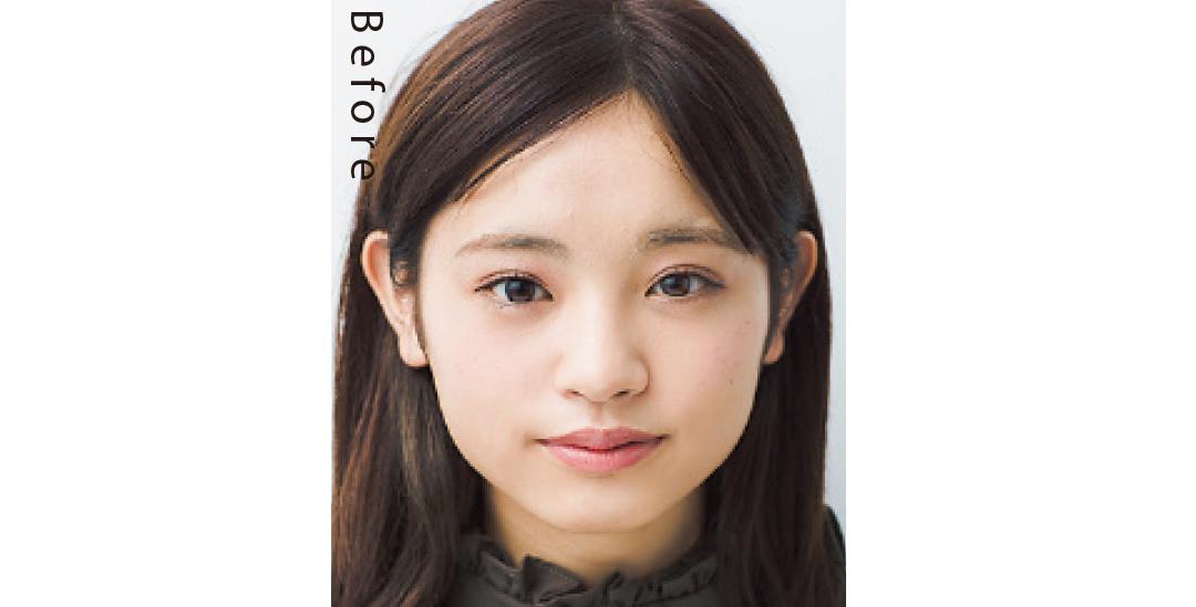 ベース型さんの女の子らしい小顔ヘアは、くびれカットのひし形がカギ!_1_1