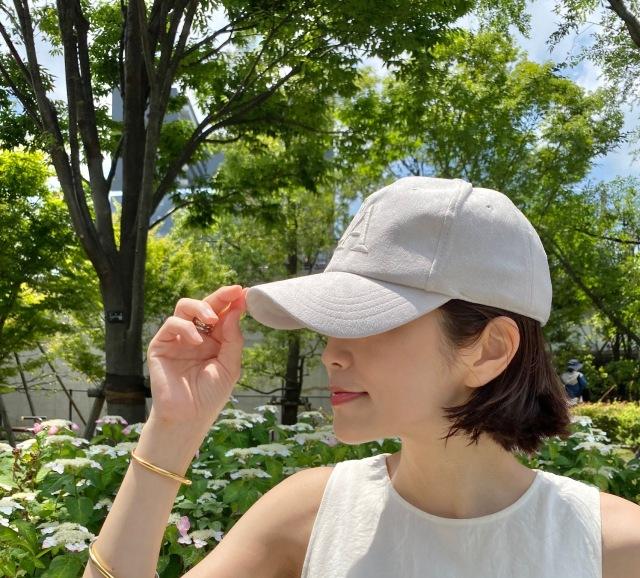 淡色のキャップで初夏を感じる。_1_2
