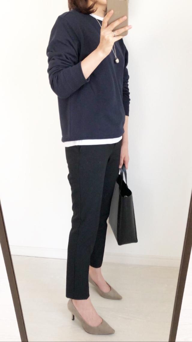 『UNIQLO』大人も着られるキッズスウェット!【tomomiyuコーデ】_1_8