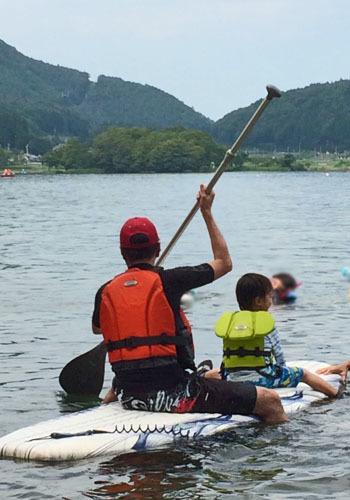 長野県・木崎湖でSAPに挑戦!_1_2