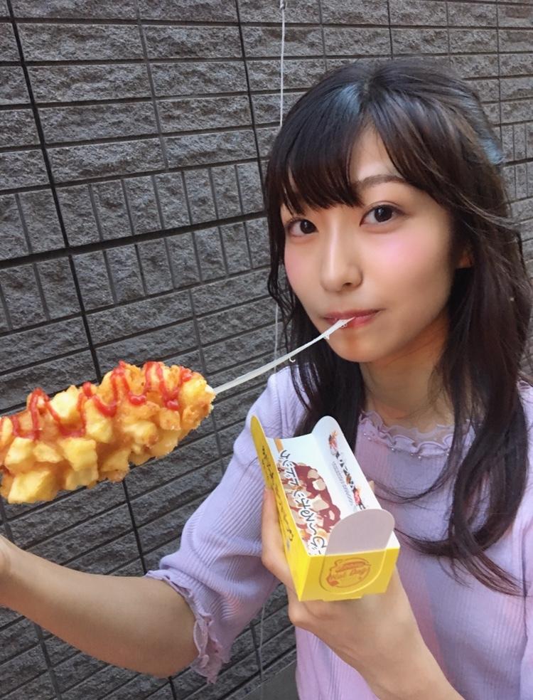 凄くのびるチーズ♡アリランホットドッグ!!!_1_3