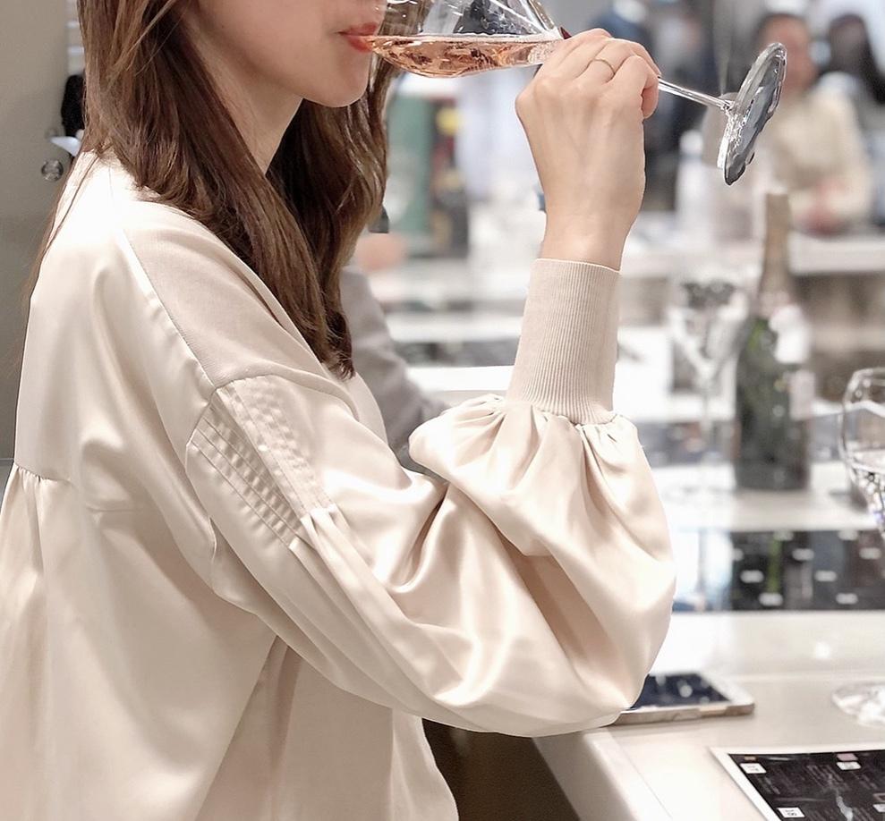 優美なパンツで、ワイン展&マクロビランチ_1_5