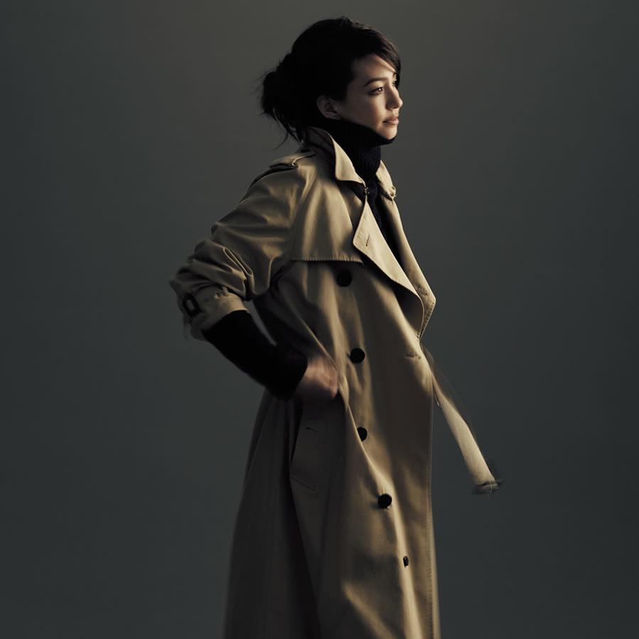 トレンチコートのファッションコーデ
