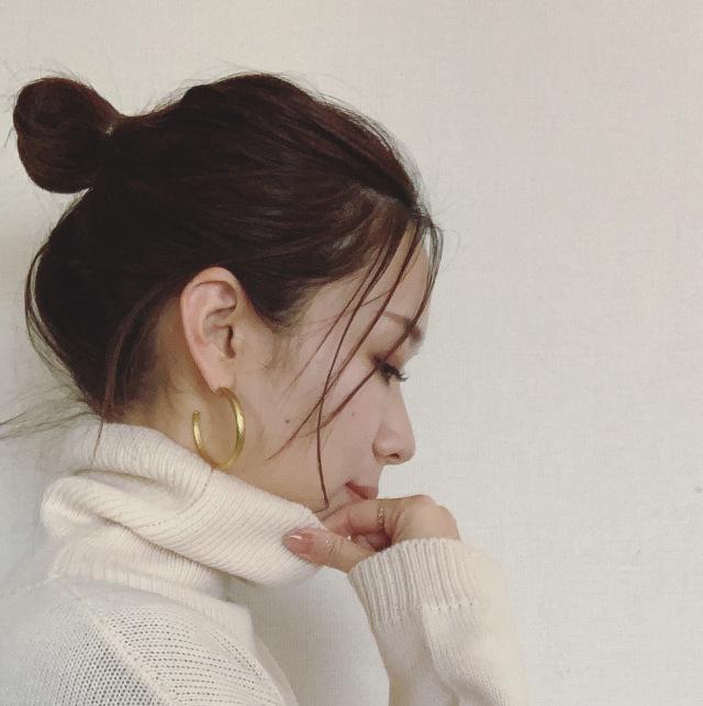 [秋冬ヘア]ニット×ヘアアレンジ_1_1