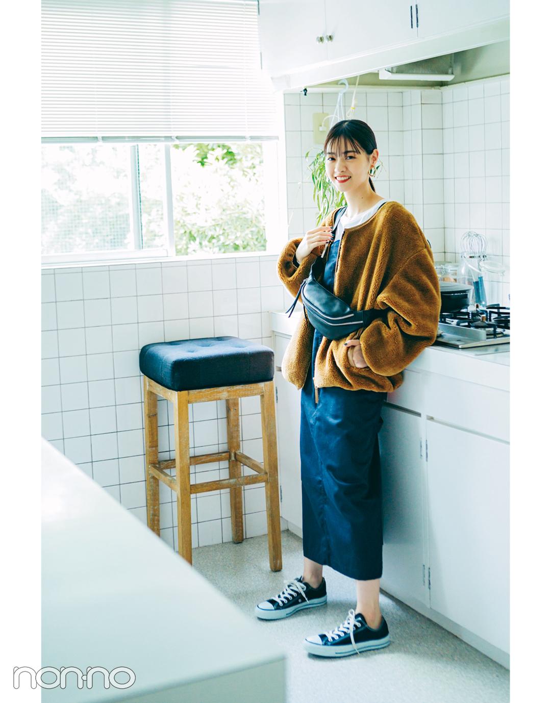 西野七瀬の推し服はボアブルゾン♡ モコモコが可愛すぎ!_1_4