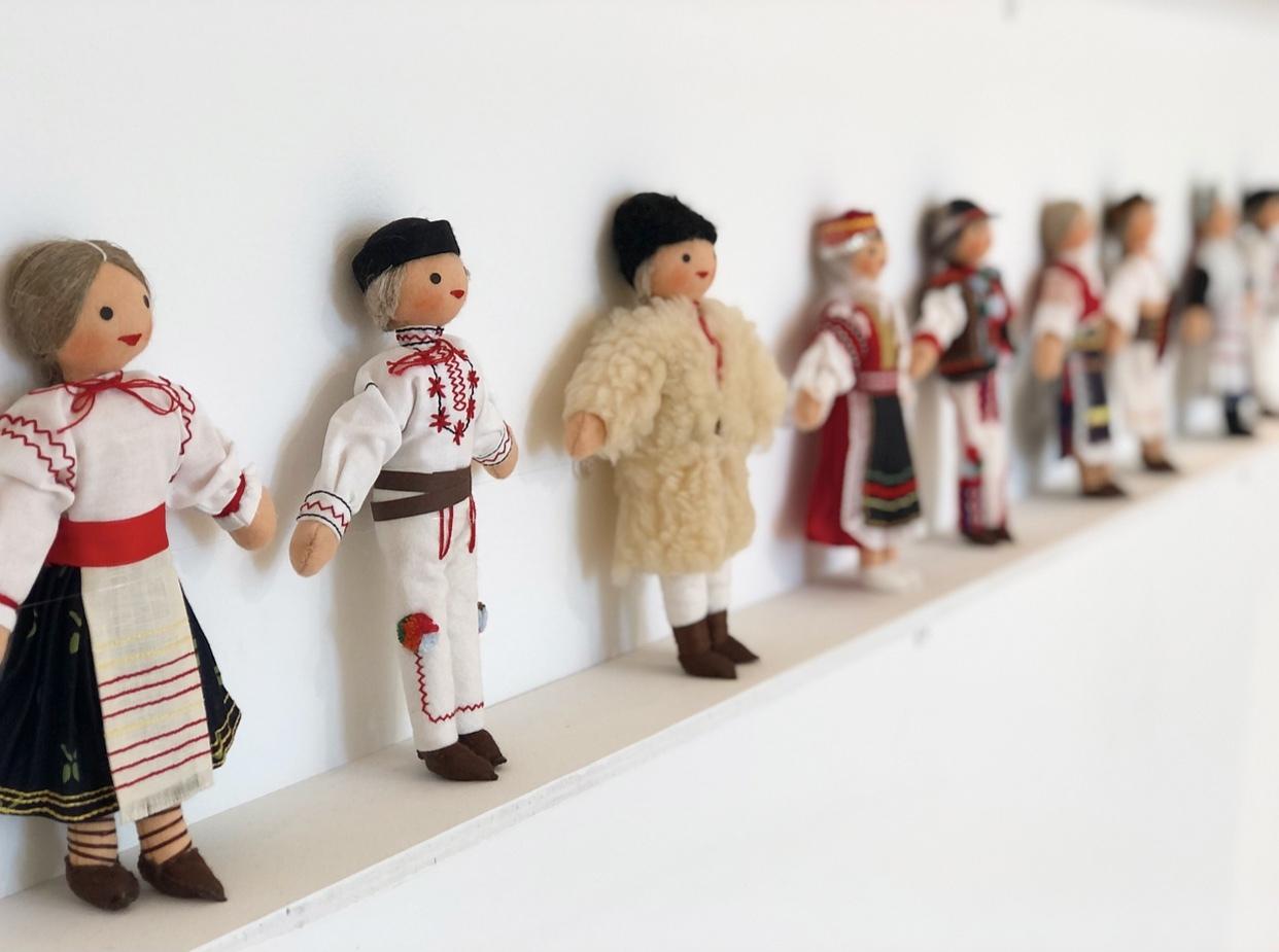 刺繍トップスで、横須賀美術館「糸の世界」へ♩_1_4
