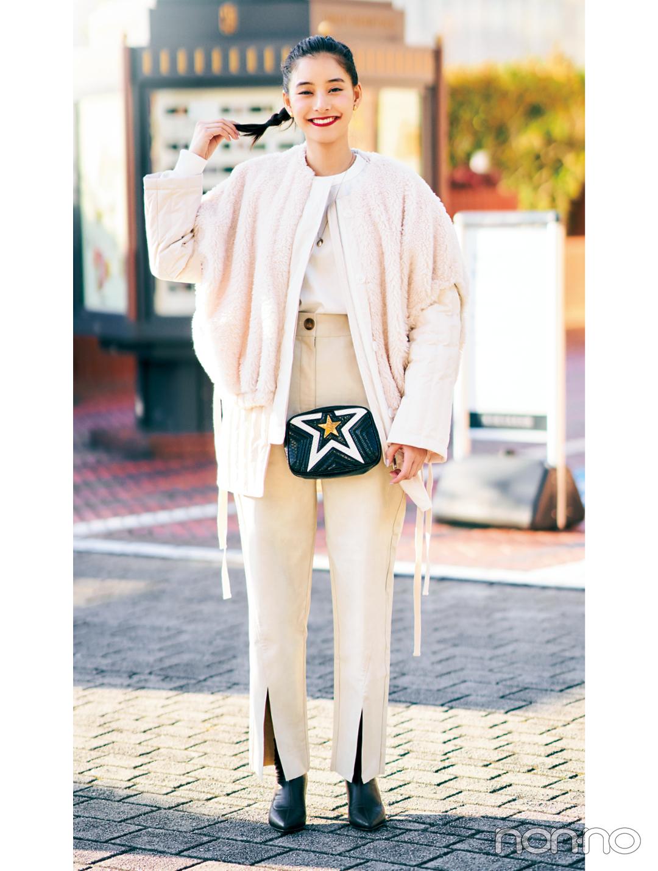 新木優子の冬私服♡ トレンドもコーデ術も、ヒントの宝庫!_1_2
