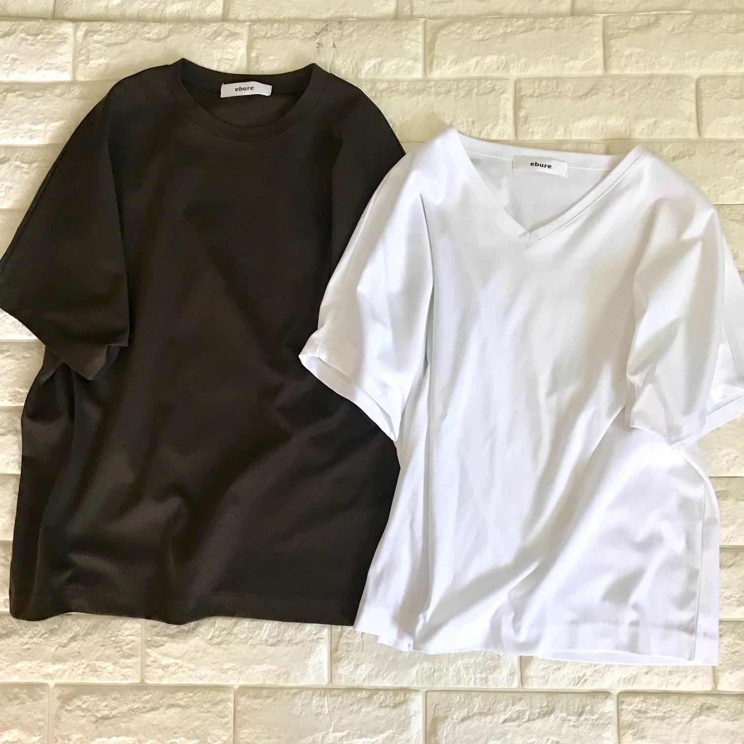 エブールのTシャツ2枚画像