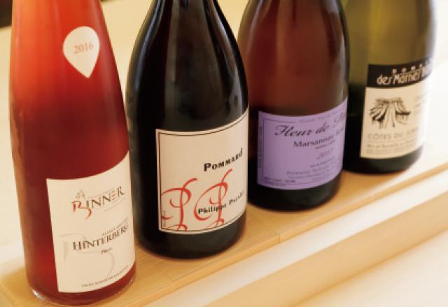 深みのある鮨に合う自然派ワイン