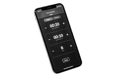 スマートフォンのタイマーアプリ
