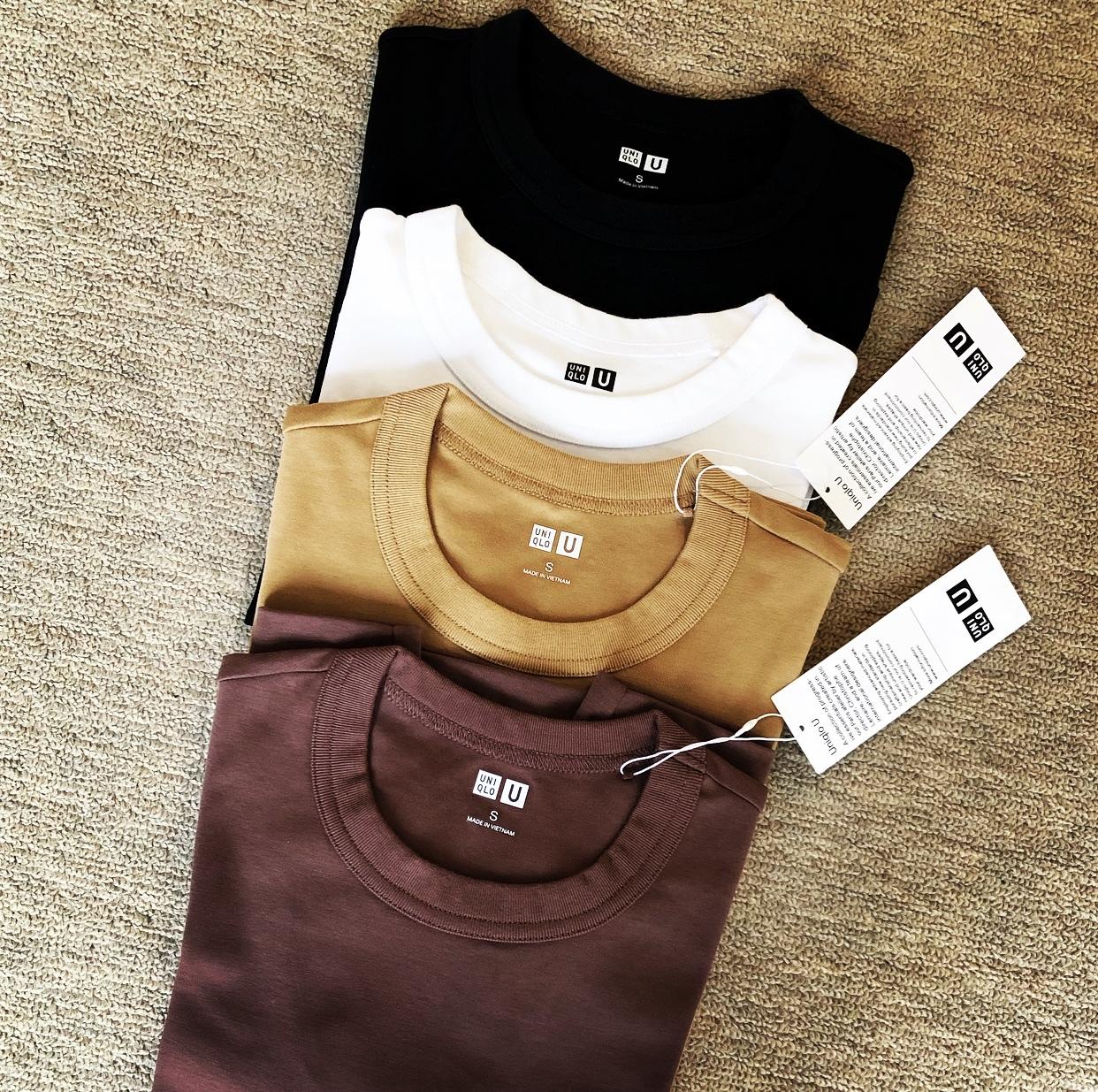 ユニクロ春買いTシャツ、チラ見せを 楽しむ☆_1_1