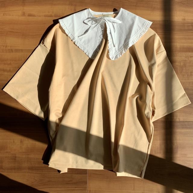 つけ襟コーデのバリエーション♡セーター・Tシャツ・ワンピース‼︎_1_4-1