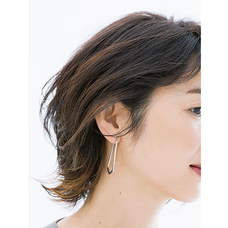 横から見た人気ヘアスタイル4位の髪型