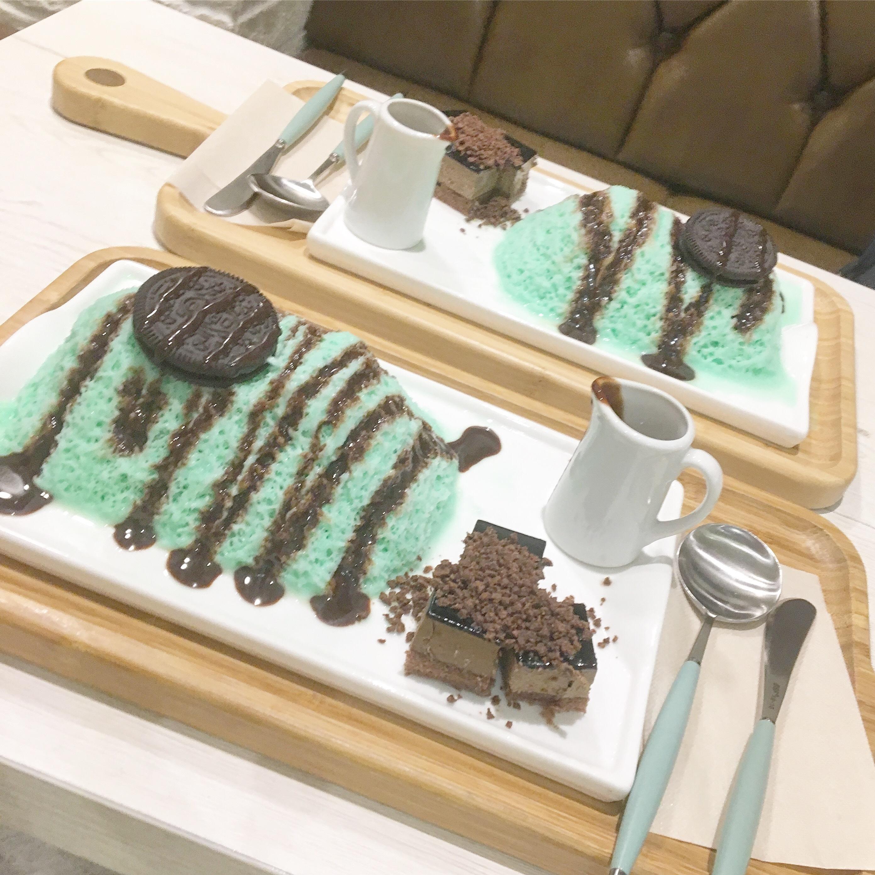 """《夏休みのおでかけ❤︎》 """"チョコミントかき氷"""" 3選_1_3"""