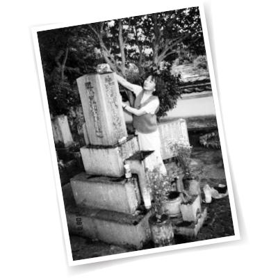 両親の郷里・岡山にあった吉行家の墓は、'17年に墓じまいした。