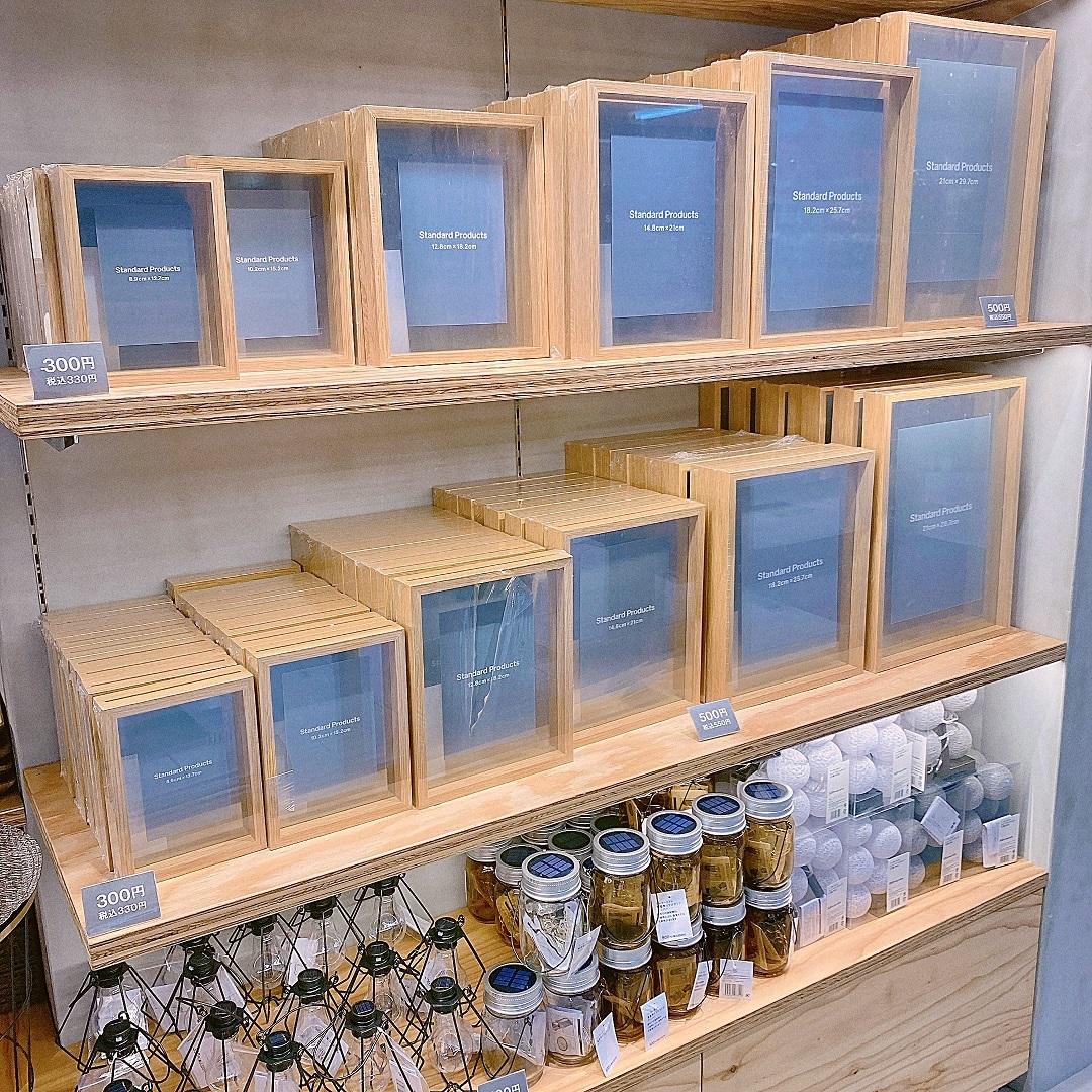 【Standard Products(スタンダードプロダクツ)】木製フォトフレームは、全部で6サイズ