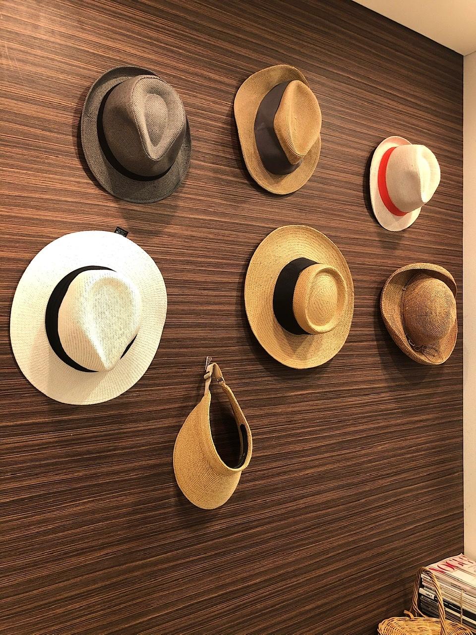 帽子の「魅せる」収納_1_1