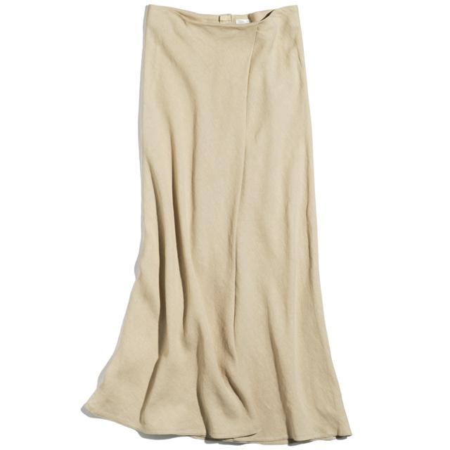ラスパイユのリネンマキシスカート