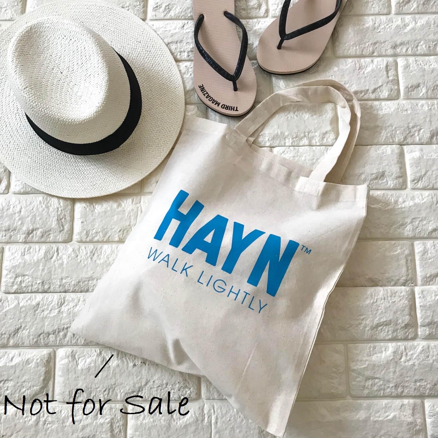 HAYNのコットンバッグ画像