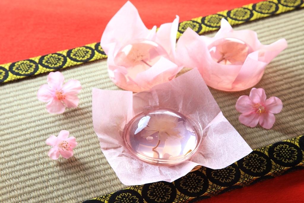 桜咲く さくらゼリー