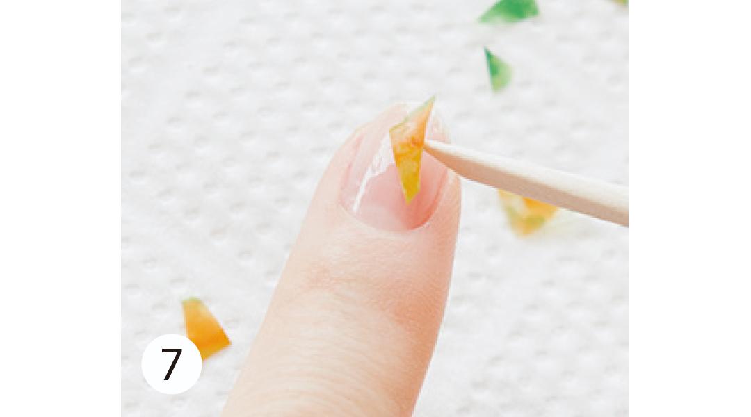夏のセルフネイル★ 簡単&新鮮なビタミンラップネイルをご紹介!_1_11