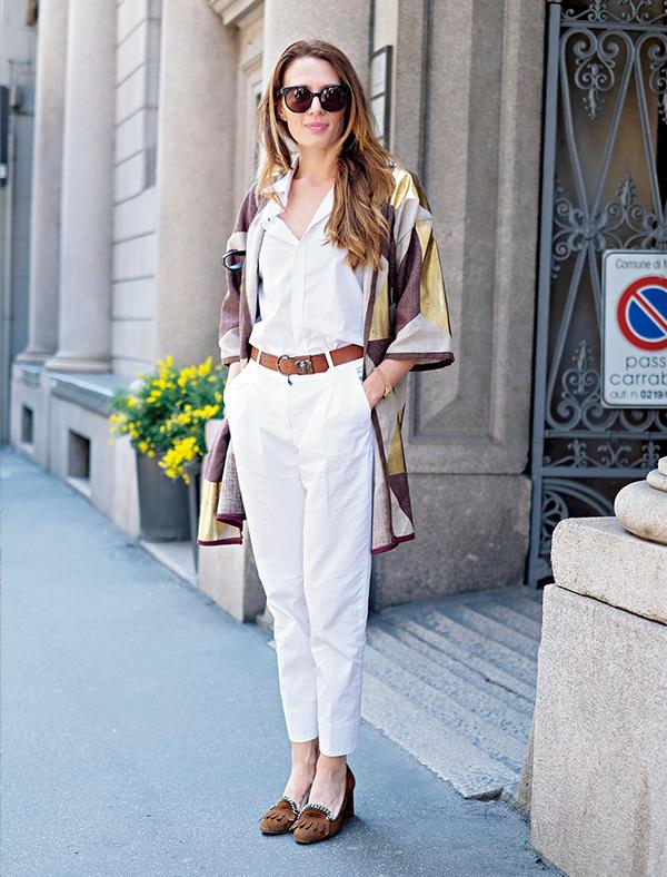 全身「白」をカジュアルスタイルに取り入れる【ファッションSNAP ミラノ・パリ編】_1_1-1