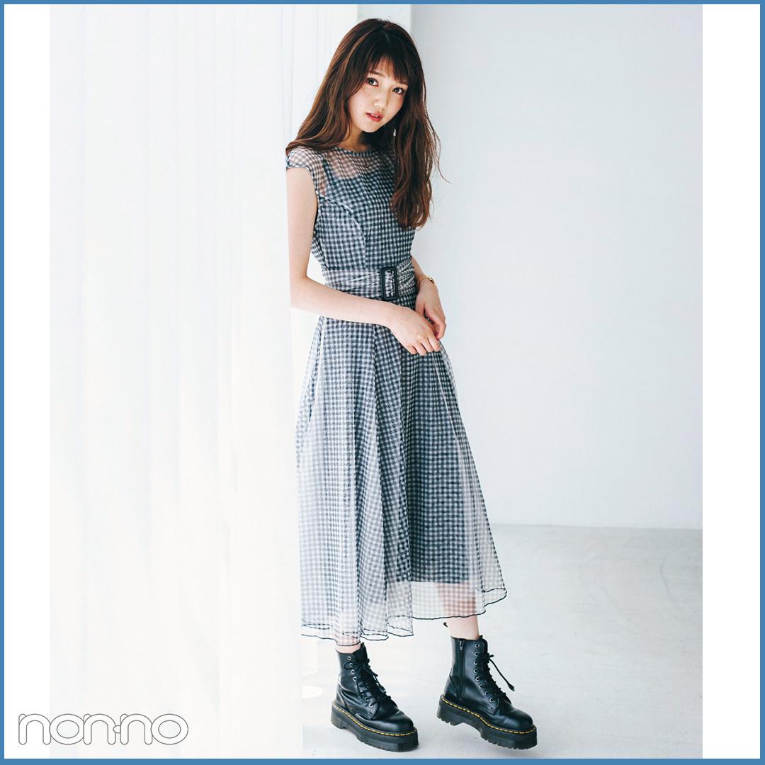涼しくておしゃれ度抜群♡ 透け感アイテムの夏コーデ10選!_1_1-6