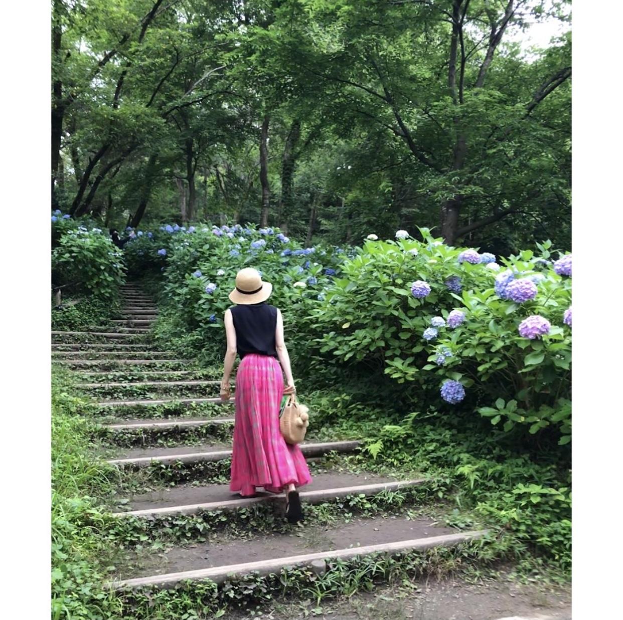 ピンクスカートで、岡本太郎美術館へ❤︎_1_5